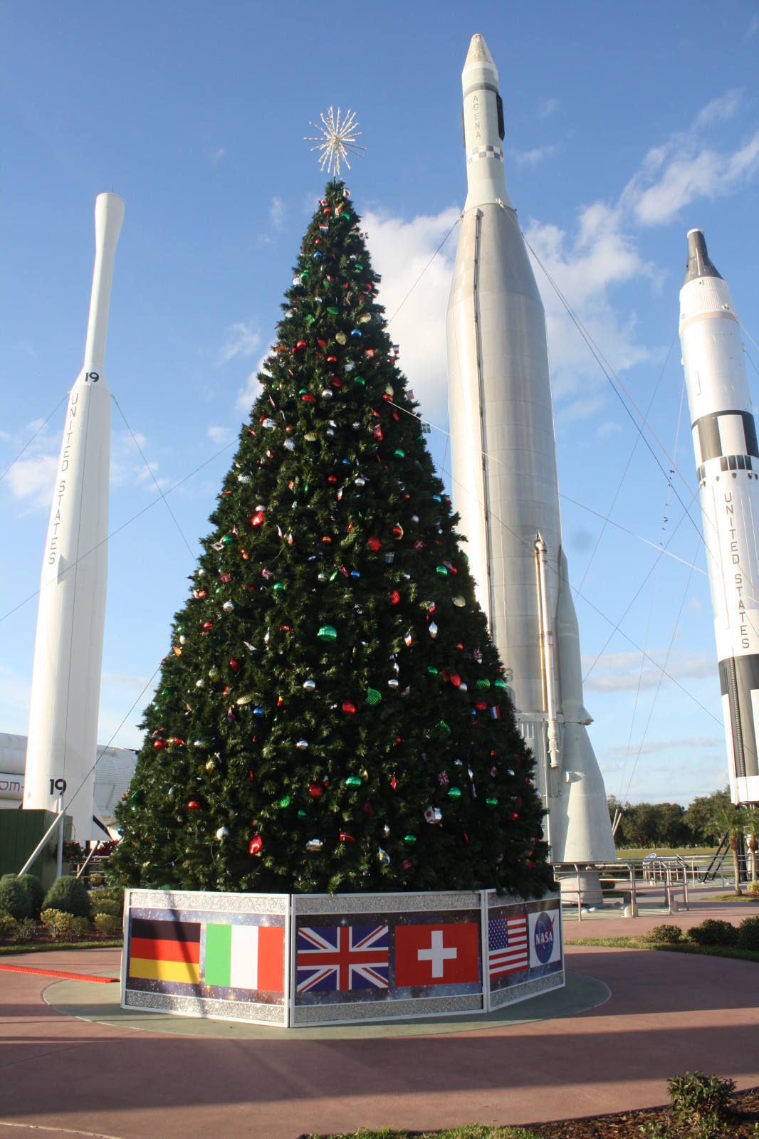 Holidays in Space Kennedy Space Center Visitors Center Space Coast