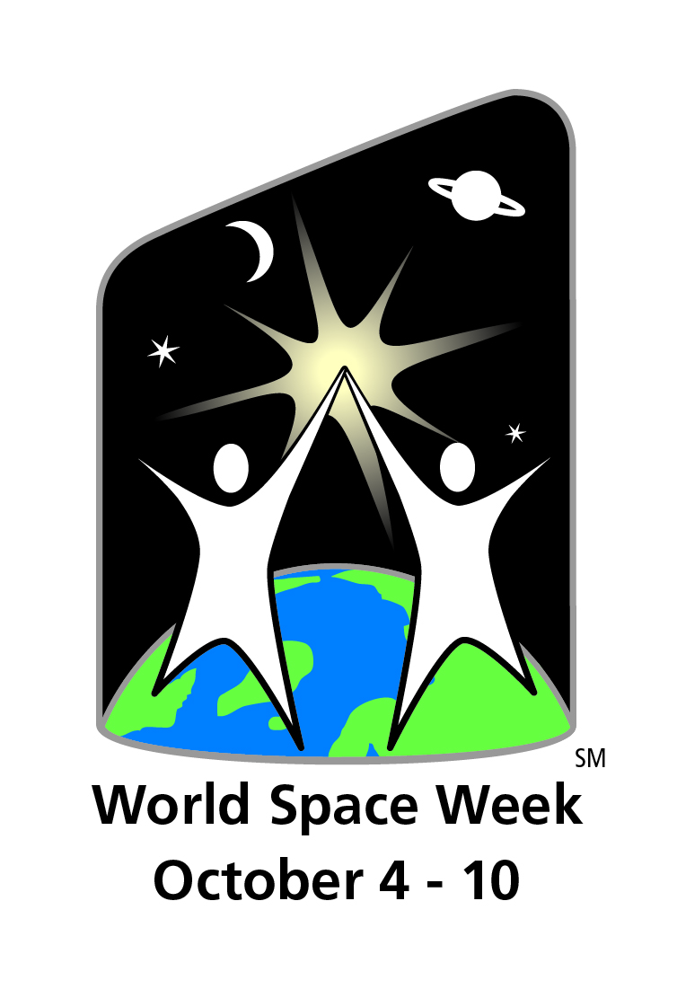 Kennedy Space Center Visitor Complex World Space Week Logo