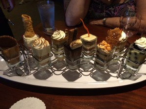 Seasons 52 mini desserts tray