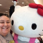 Selfie with Hello Kitty
