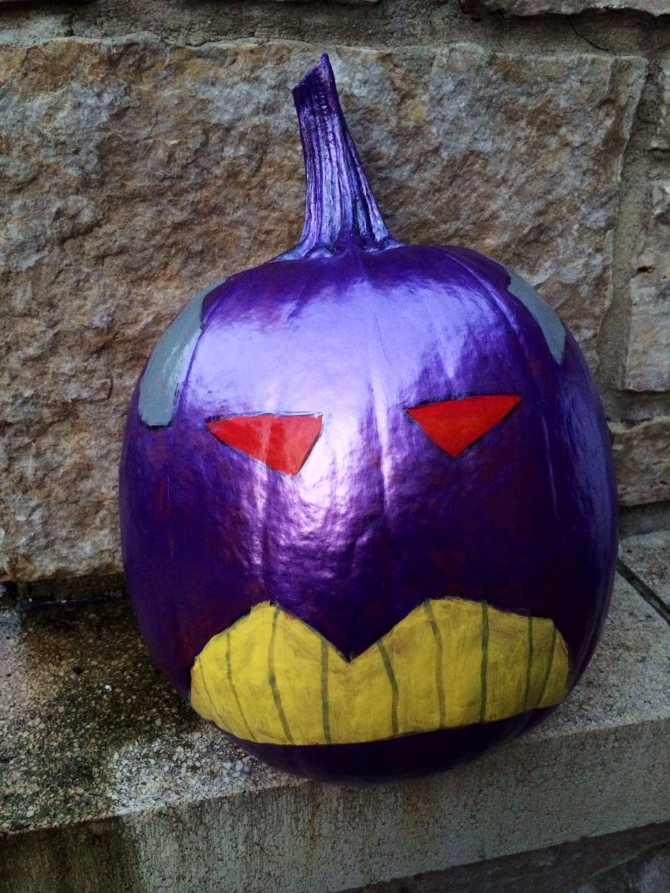 Halloween Fun #DisneySide Pumpkin Painting Zurg