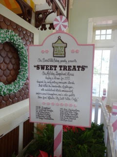 Gingerbread House Christmas at Walt Disney World BoardWalk Inn