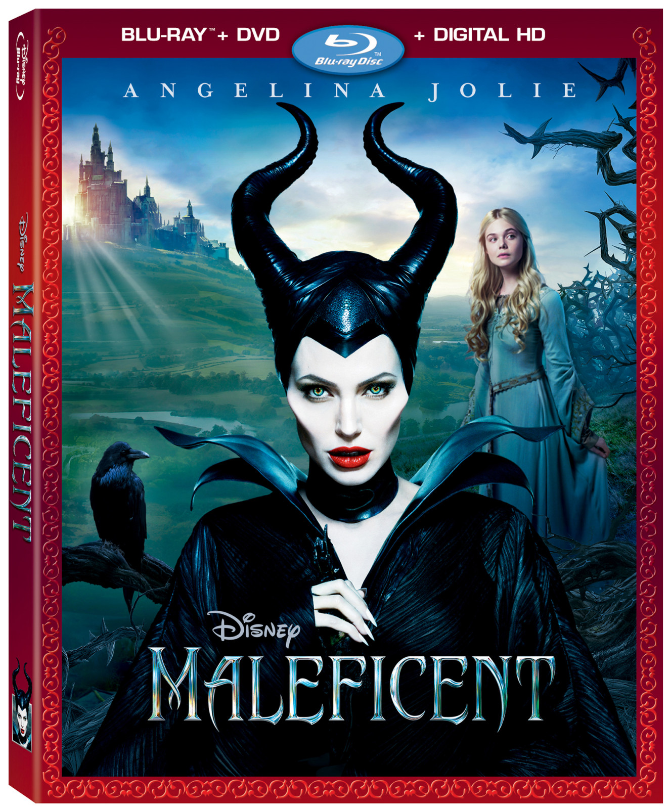 Maleficent DVD Blu-Ray