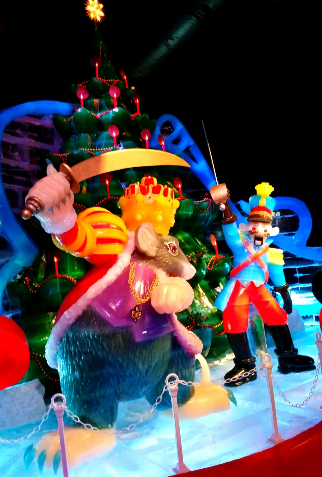 Gaylord Palms Ice 2014 Rat King Nutcracker Prince
