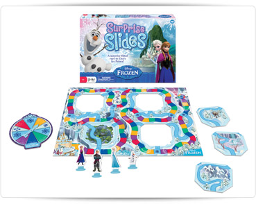 Wonder Forge Frozen Surprise Slides