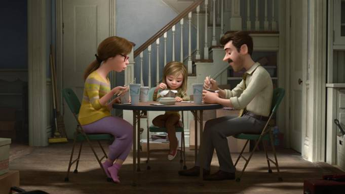 Disney Pixar Inside Out Dining Room