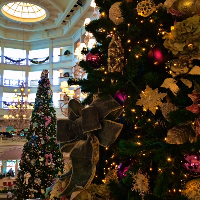 Wordless Wednesday Disney's Grand Floridian Resort and Spa Christmas Tree Holiday Walt Disney World