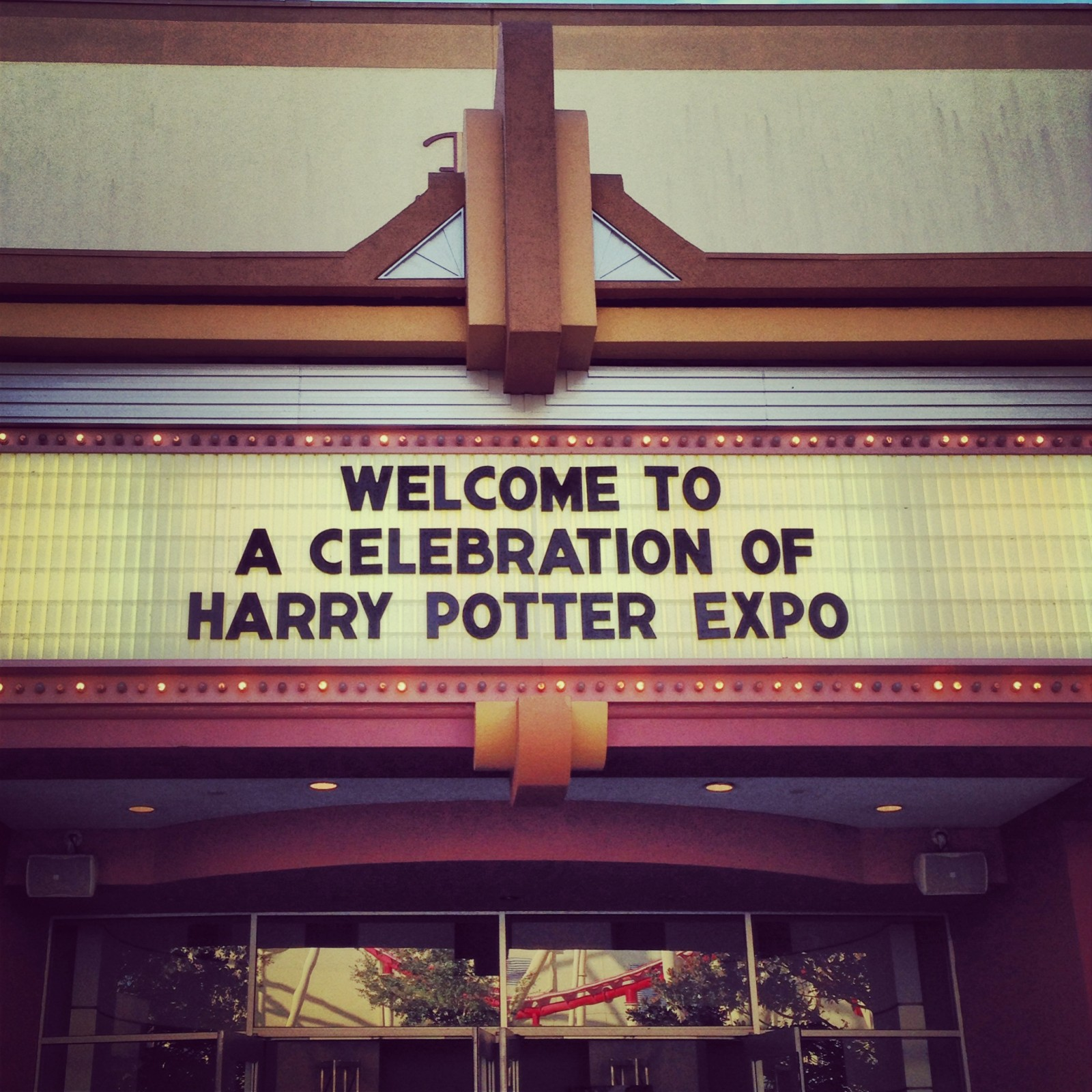 A Celebration of Harry Potter Expo Marquee