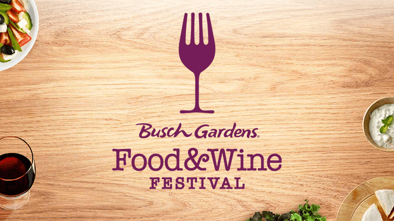 Busch Gardens Tampa Food and WIne Festival Logo