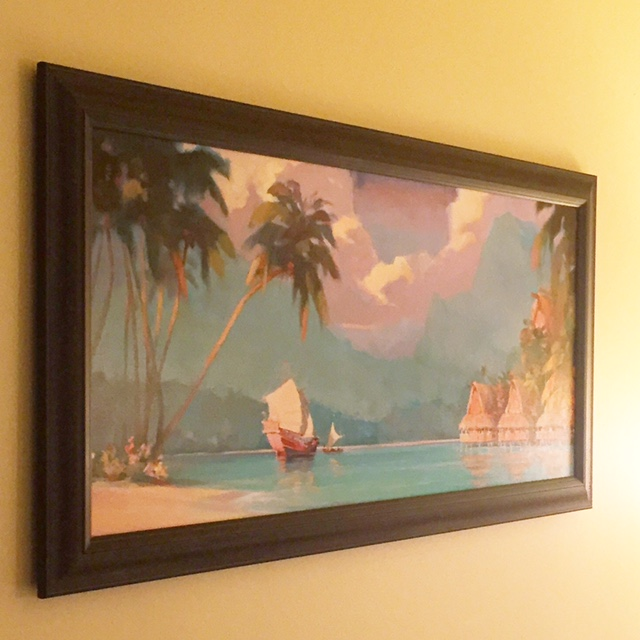 Disney's Polynesian Villas & Bungalows Artwork