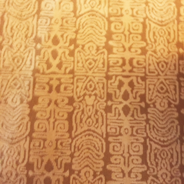 Disney's Polynesian Villas & Bungalows Carpet with Hidden Mickeys