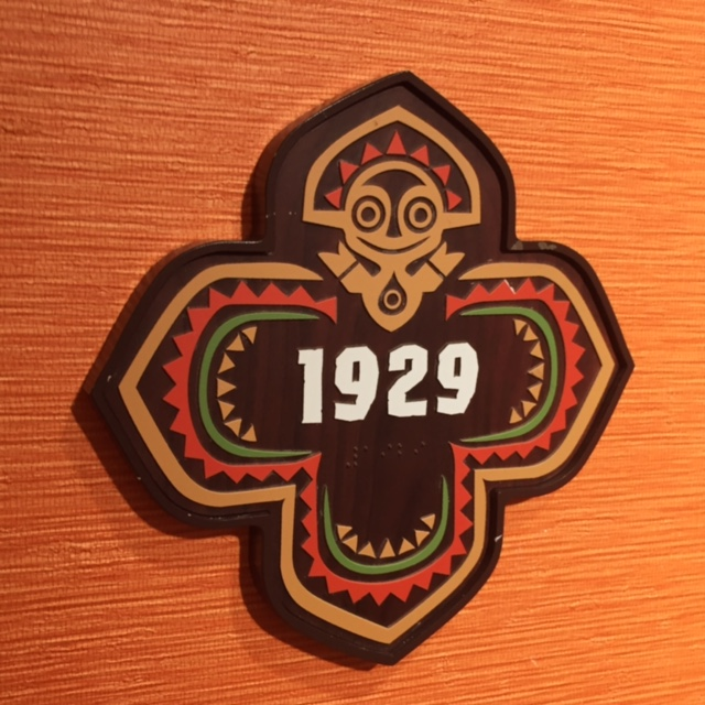 Disney's Polynesian Villas & Bungalows Door Number