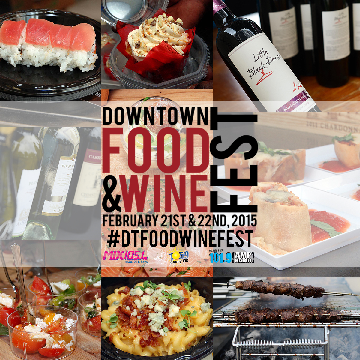 Downtown Food & Wine Fest at Lake Eola Set for February 21 and 22, 2015