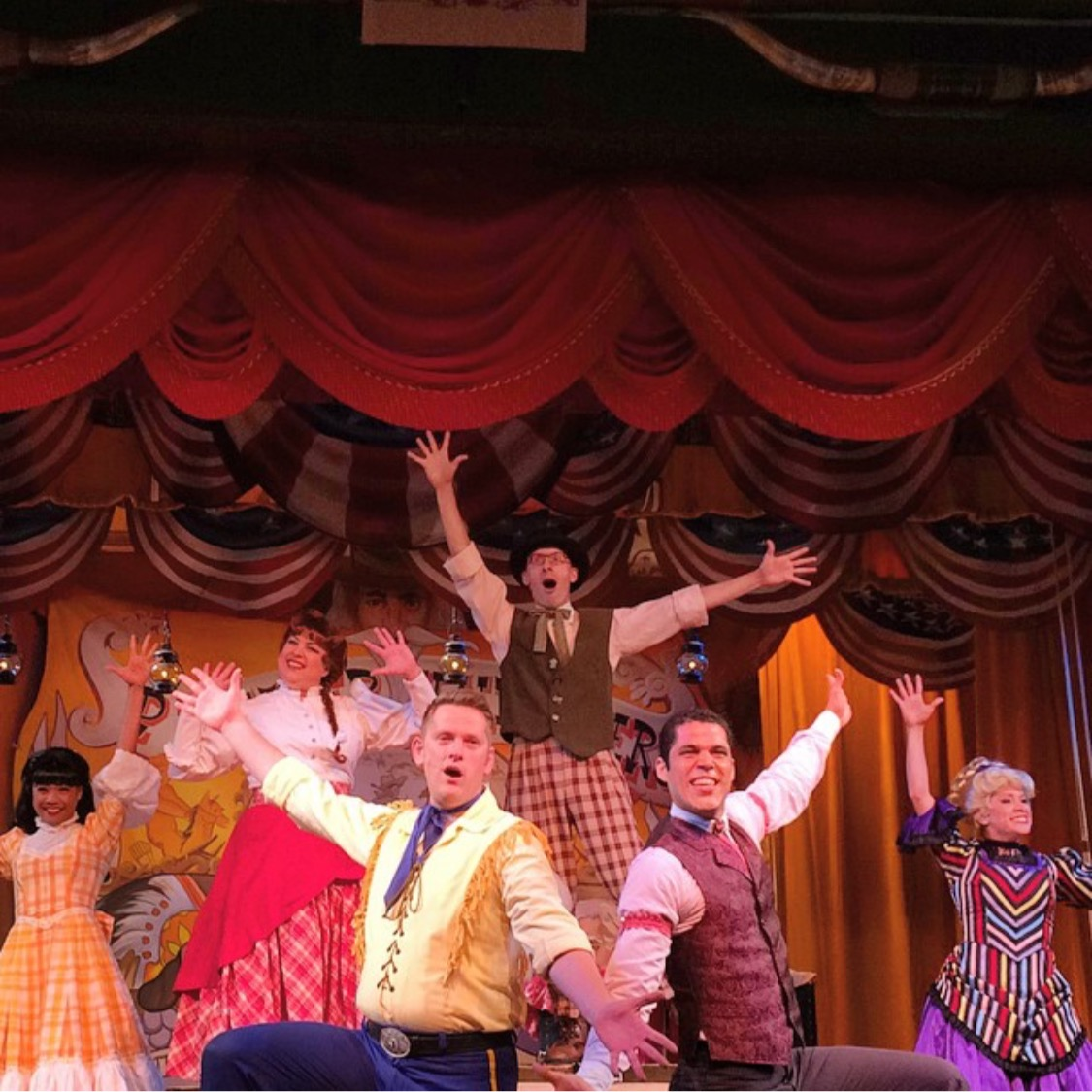 Wordless Wednesday Pioneer Hall Players Hoop Dee Doo Musical Review Fort Wilderness
