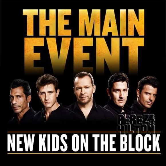 New Kids on the Block The Main Event Tour Poster Amway Center