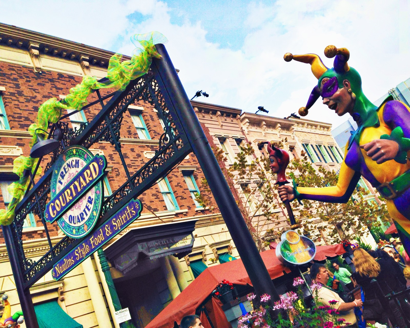 Pick Six Universal Orlando Mardi Gras Concert Planning On The Go In Mco
