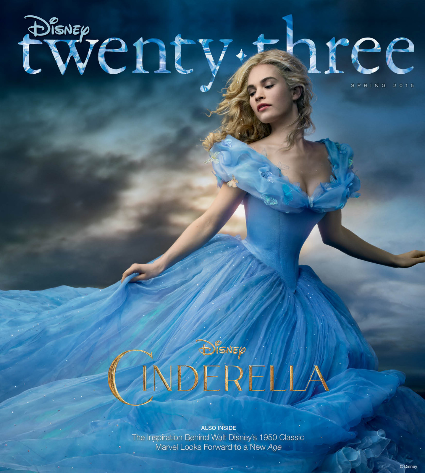 D23 Disney Twenty-Three Magazine Cinderella Spring 2015