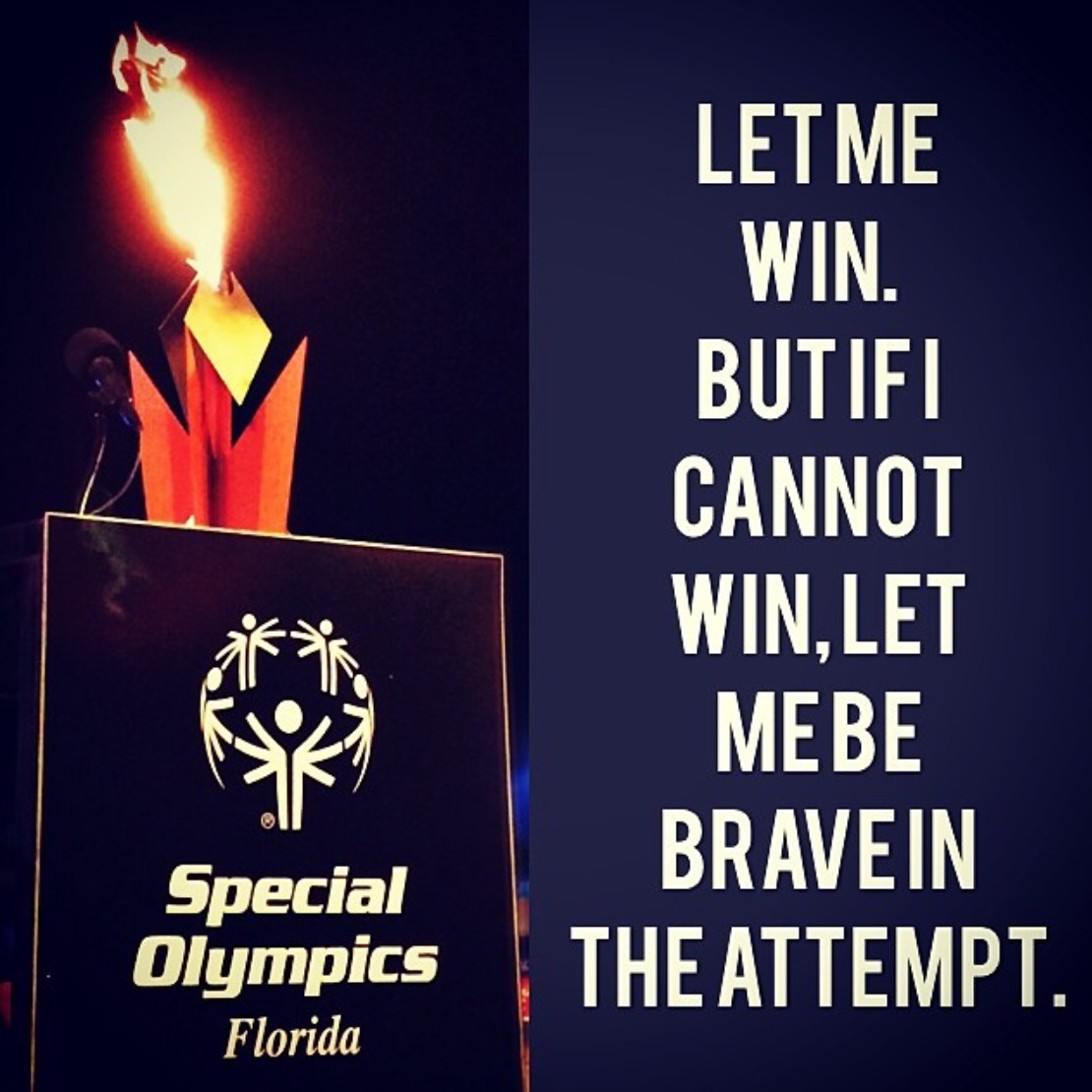 Wordless Wednesday Special Olympics Oath