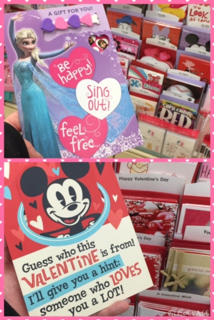 Last Minute Disney Inspired Valentine's Day Shopping Hallmark Cards