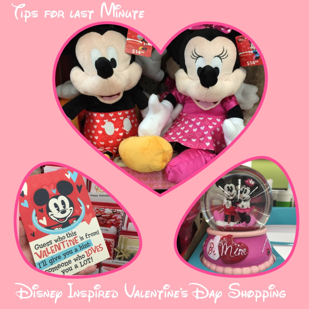 Last Minute Disney Inspired Valentine's Day Shopping Header