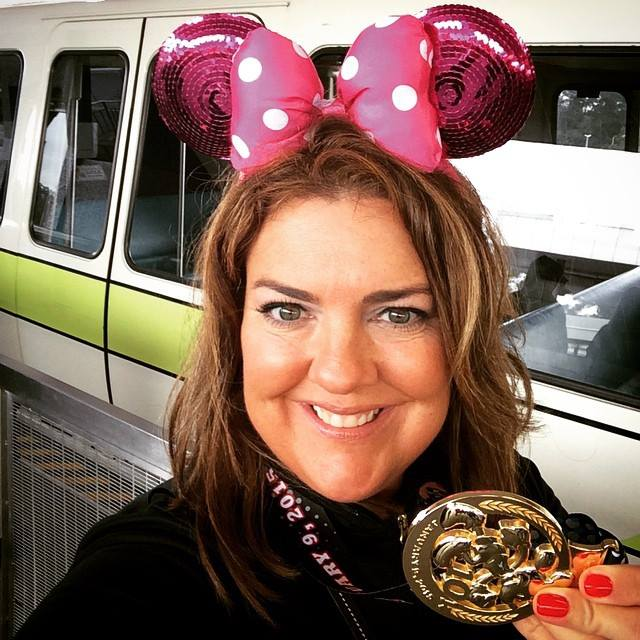 Pack like a runDisney Princess Mickey and Minnie Jacqui with her medal