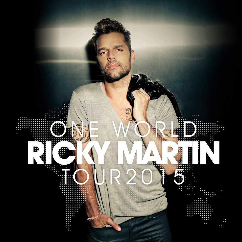 Ricky Martin One World Tour Header