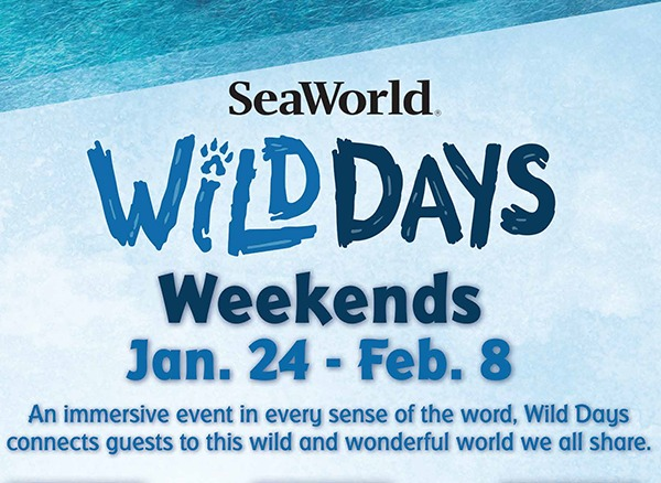 SeaWorld Orlando Wild Days Weekends Logo