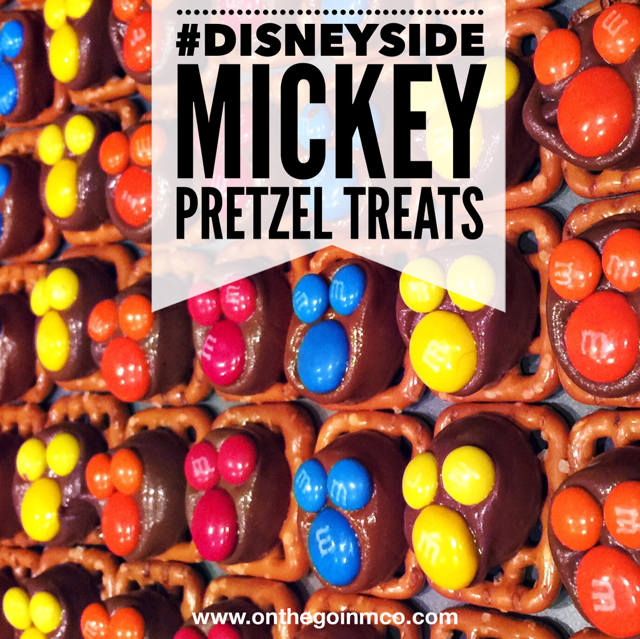 #DisneySide Mickey Pretzel Treats