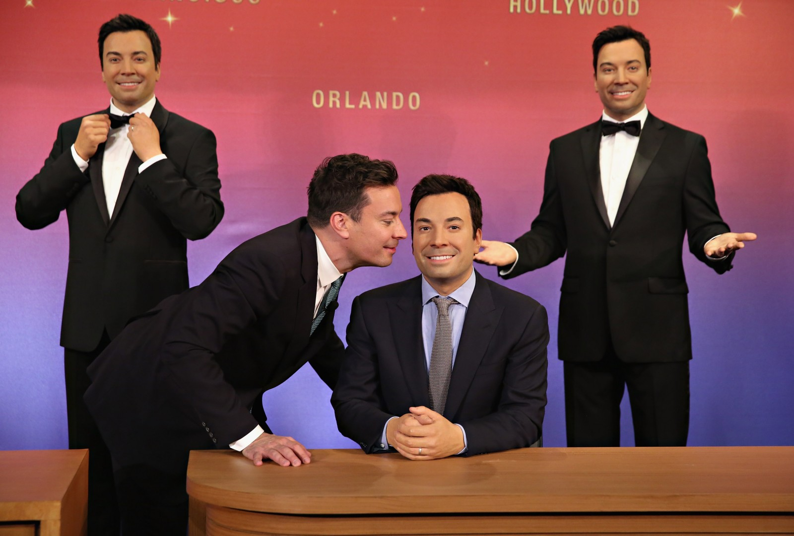 Madame Tussuads And Jimmy Fallon Debut Five Wax Figures At Madame Tussauds New York Madame Tussuads Orlando