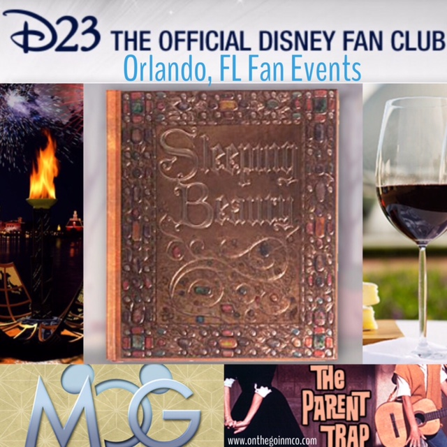 D23 Fan Events Coming To Orlando Collage