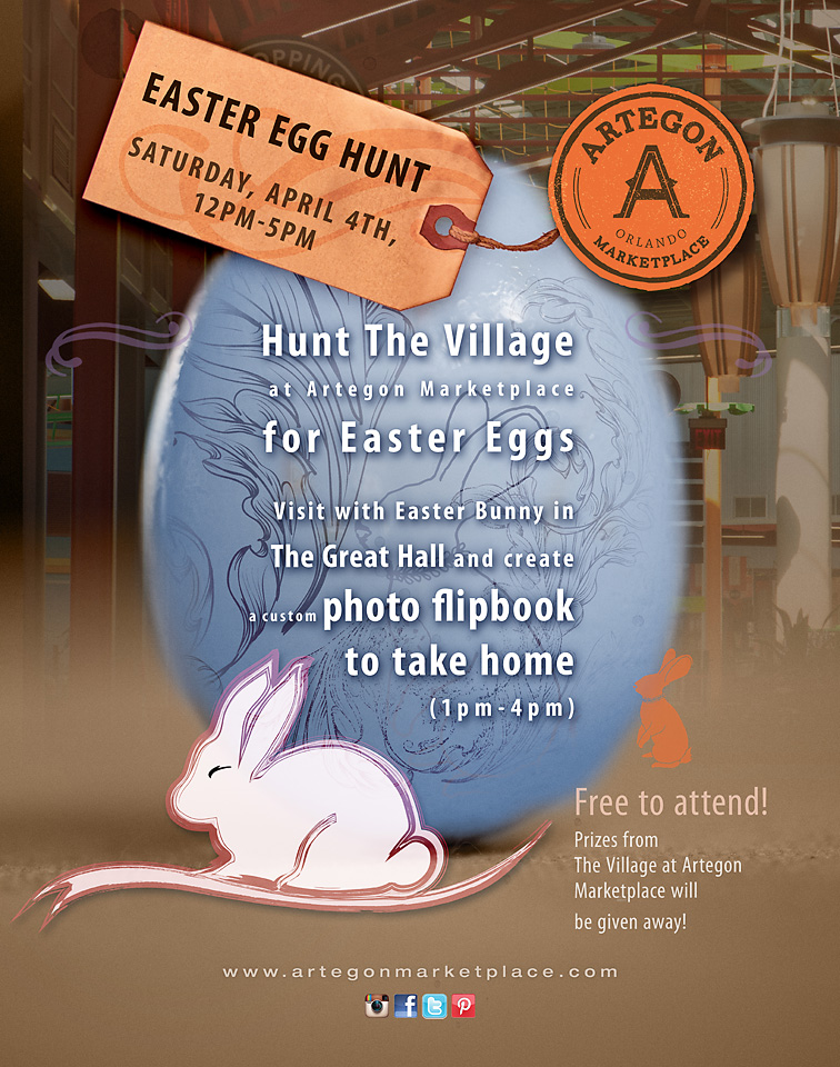 Artegon Marketplace Orlando Easter Egg Hunt 2015
