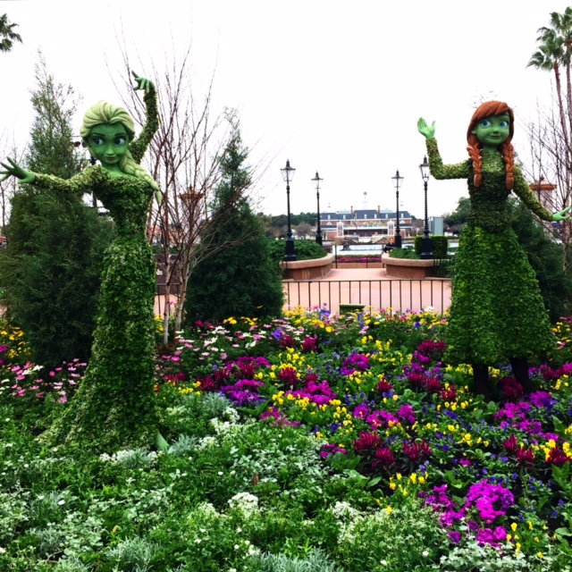 Epcot International Flower and Garden Festival 2015 Epcot Walt Disney World