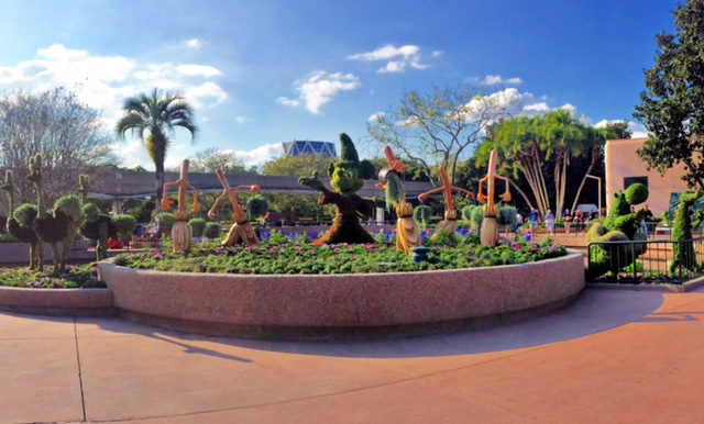 Wordless Wednesday Epcot International Flower and Garden Festival 2015 Epcot Walt Disney World