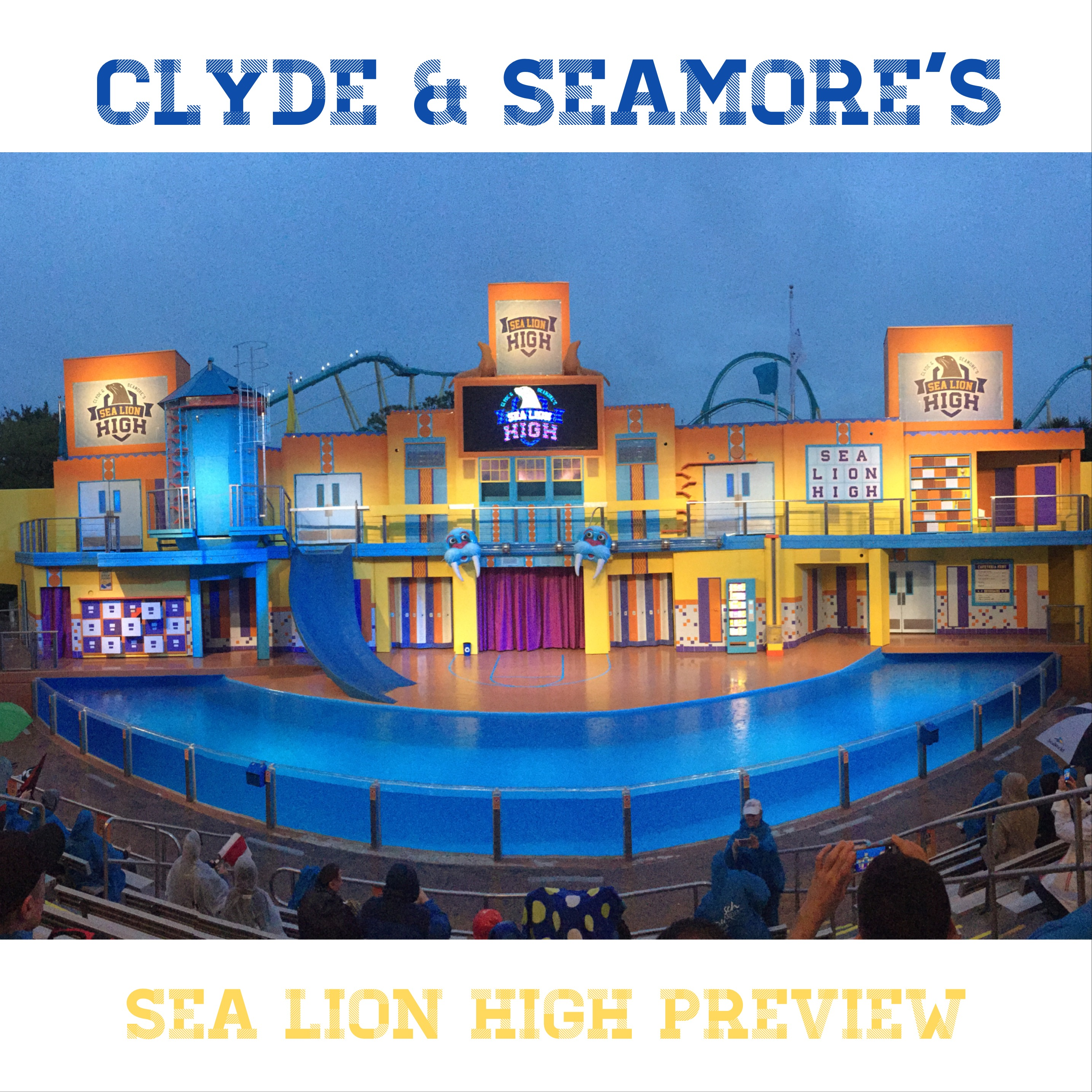 SeaWorld Orlando Clyde and Seamore's Sea Lion High
