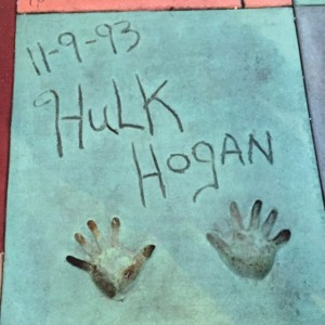 The Great Movie Ride Courtyard Hulk Hogan