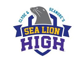 SeaWorld Orlando Clyde and Seamore's Sea Lion High Logo