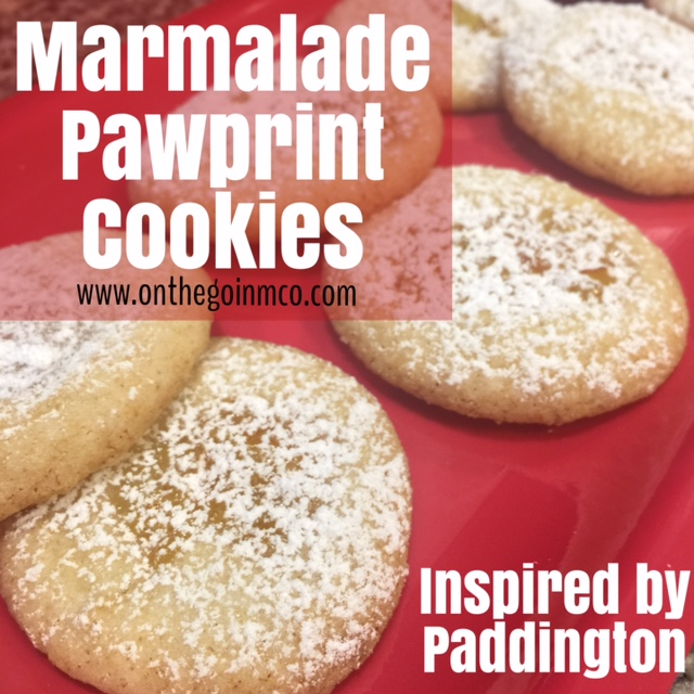 Marmalade Pawprint Cookies Paddington Movie Night Paddington the Bear