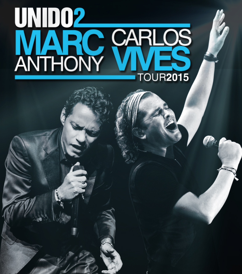 Unido2 Tour Amway Center Marc Anthony Carlos Vives Amway Center