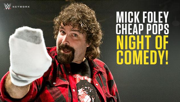 WWE Mick Foley Cheap Pops Full Sail Live