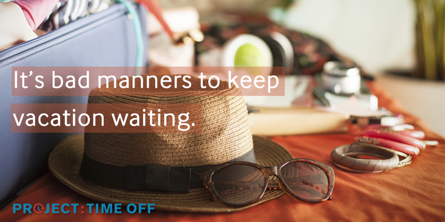 U.S. Travel Association and Project: Time Off