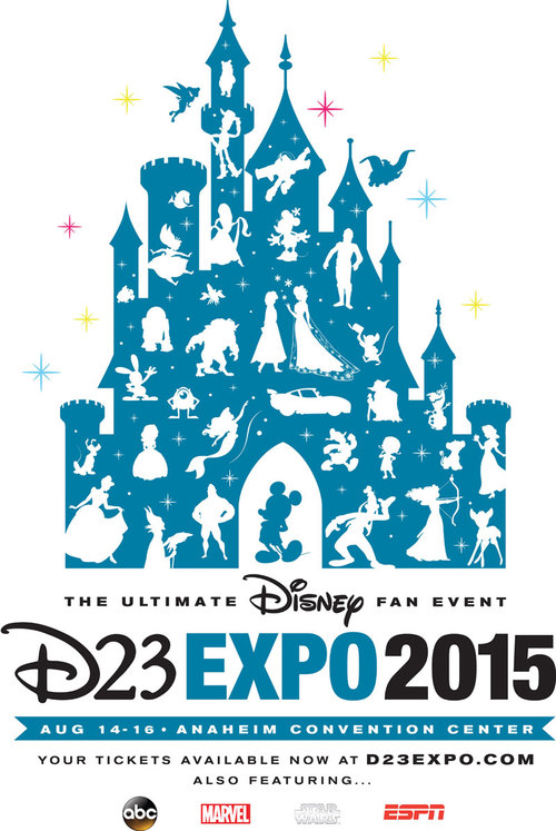 D23 2015 Expo Poster