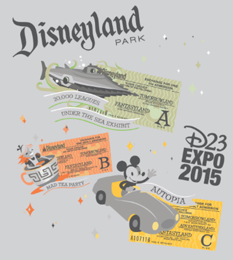 Disney D23 2015 Expo Dream Store