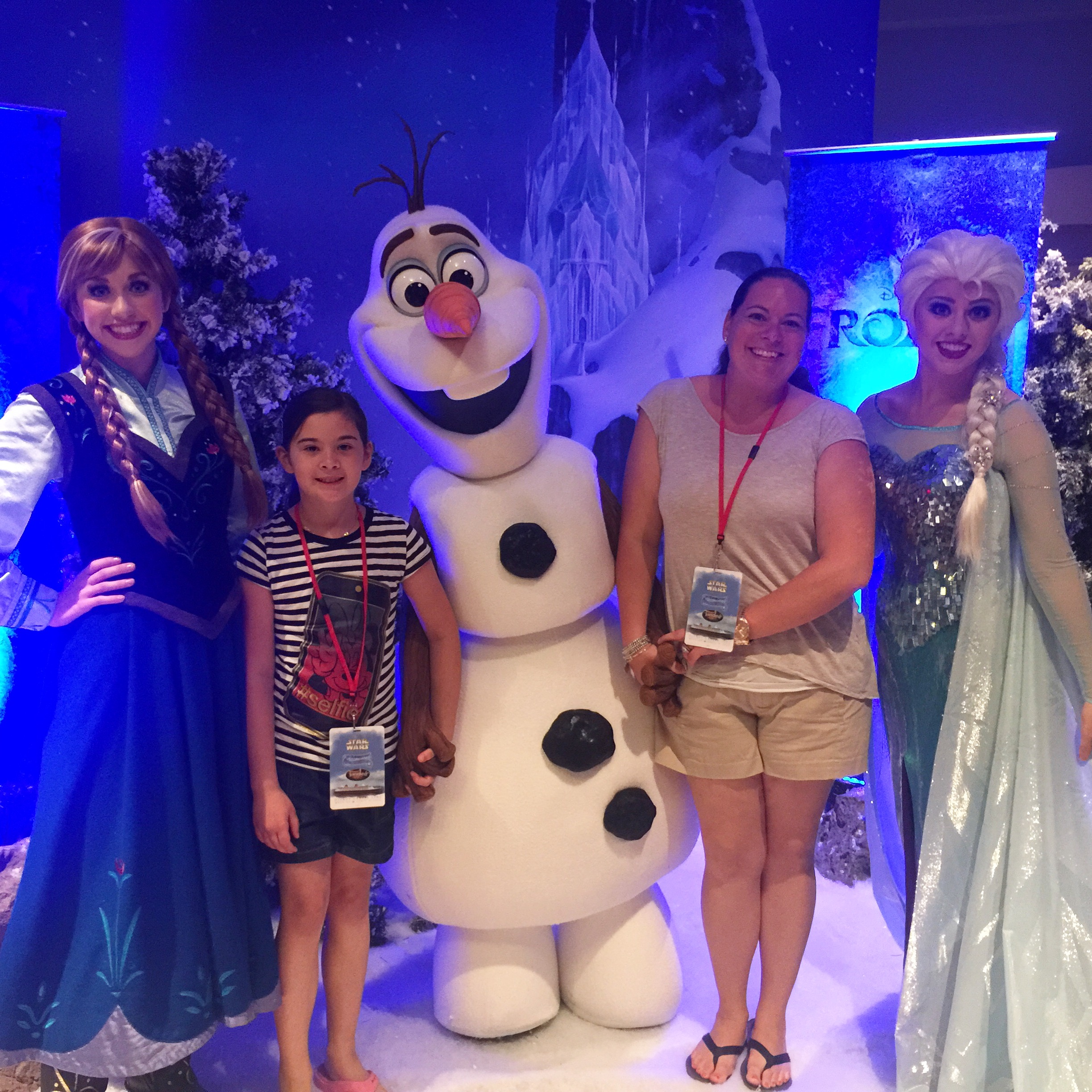 Disney Parks Blog Meet Up Dcl Frozen Meet And Greet On The Go In Mco