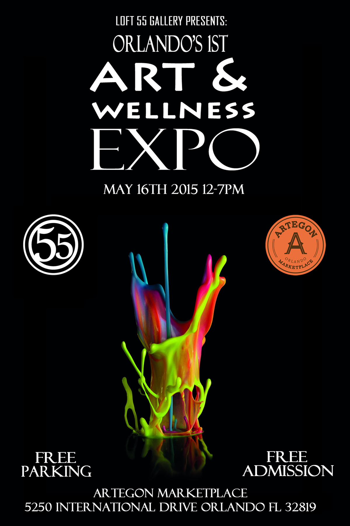 Artegon Marketplace Art & Wellness Expo 2015