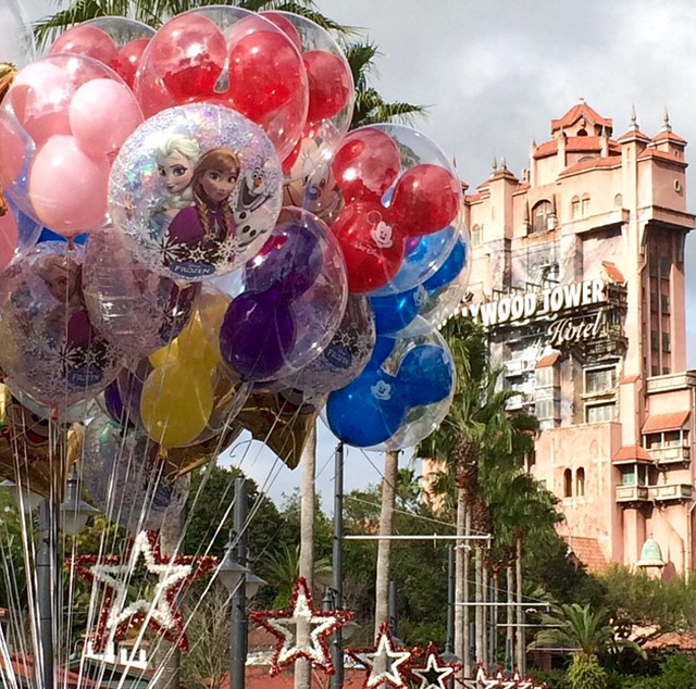 Tips And Tricks: Packing For A Walt Disney World Vacation Tower of Terror Walt Disney World Mickey Balloons Disney's Hollywood Studios