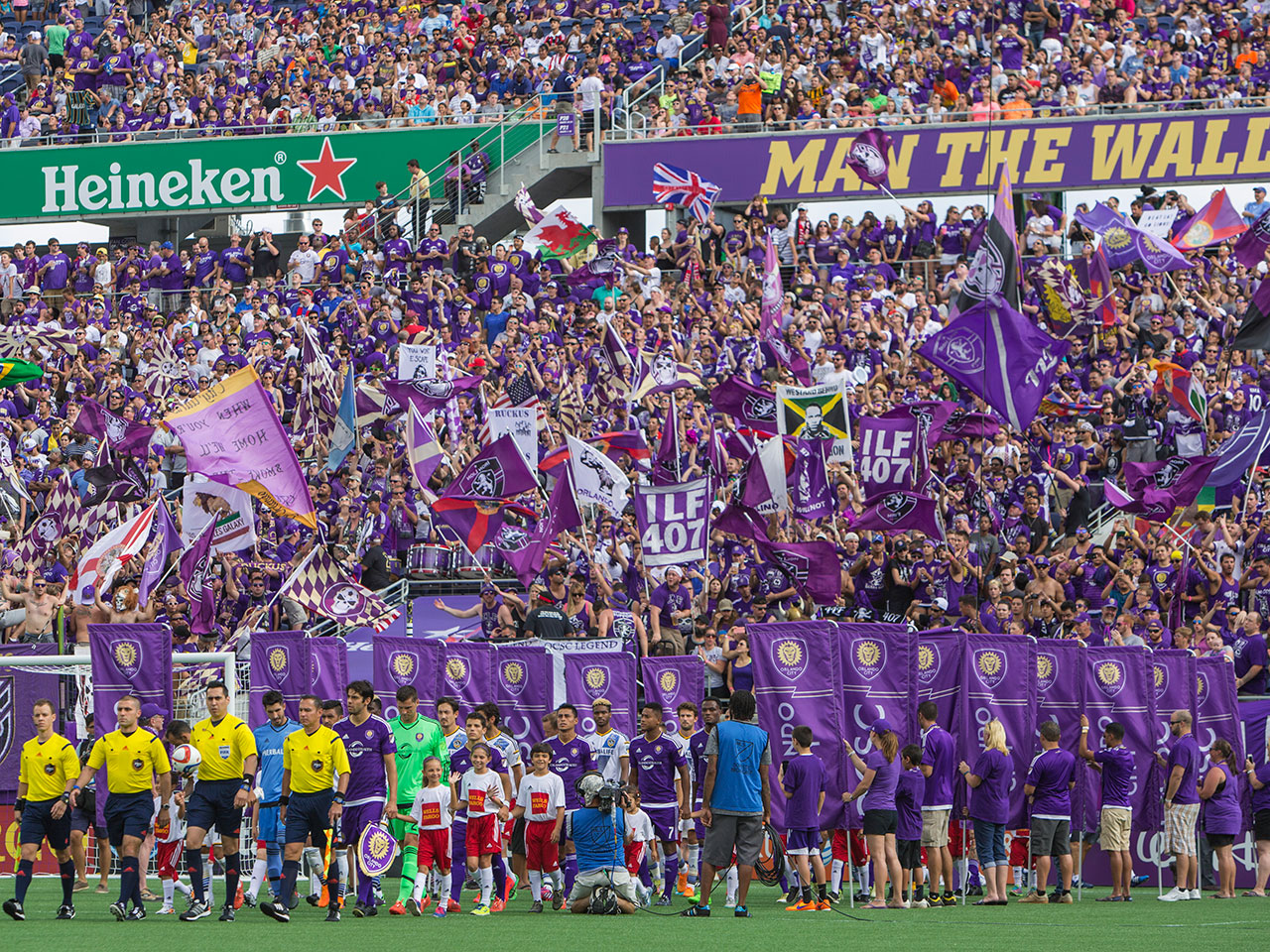 Orlando City SC Orlando City Soccer Club Citrus Bowl Orlando MLS