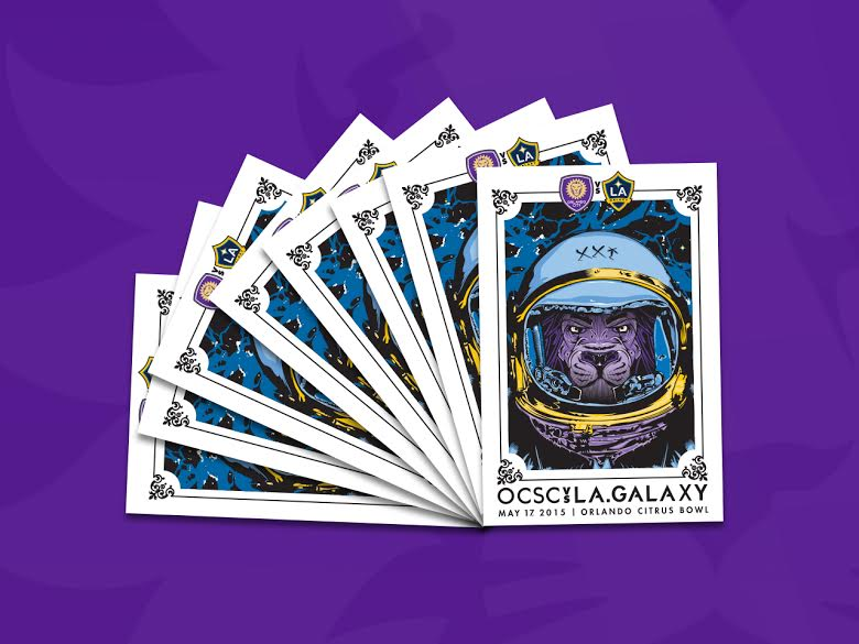 Orlando City SC Launches Commemorative Gameday Posters