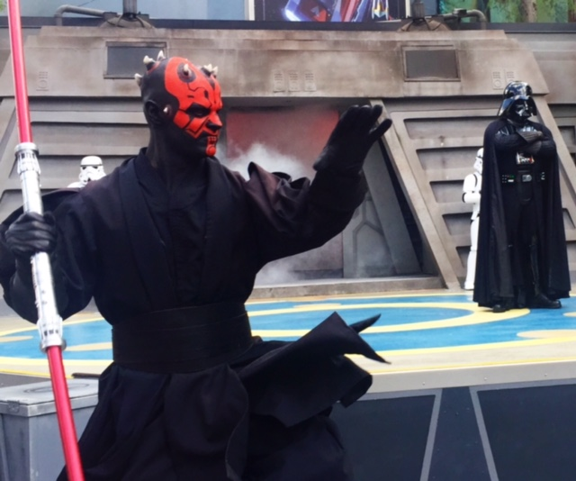 Wordless Wednesday May 27 2015 Star Wars Weekends Jedi Training Academy Darth Maul Darth Vader