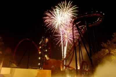 Busch Gardens Tampa Fourth of July