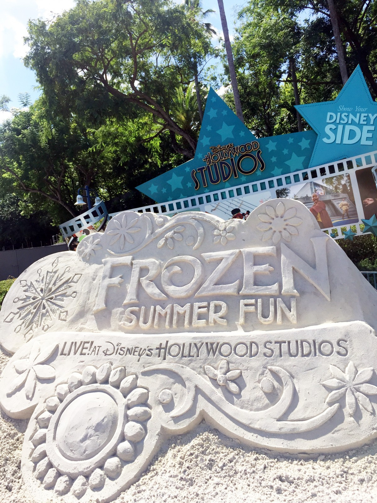 Frozen Summer Fun 2015 Disney's Hollywood Studios Walt Disney World